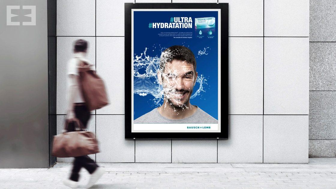 affiche métro lentille ultra