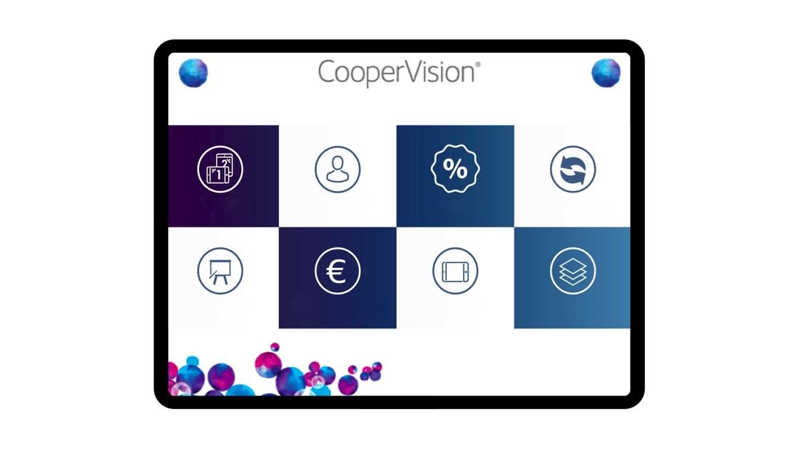 aide de vente digitale CooperVision