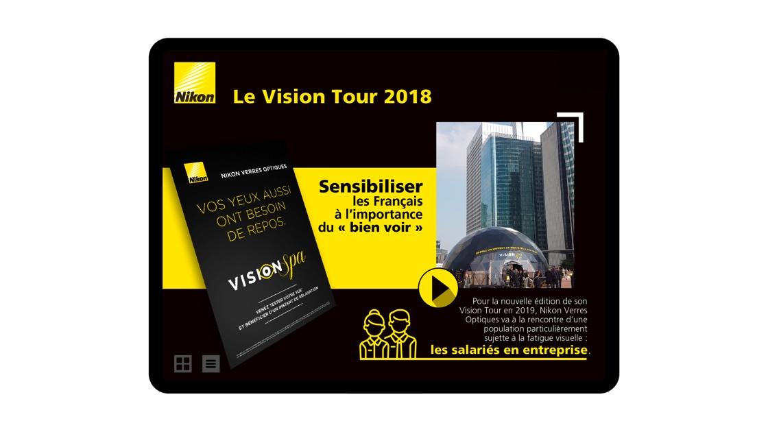 aide de vente Nikon verres optiques