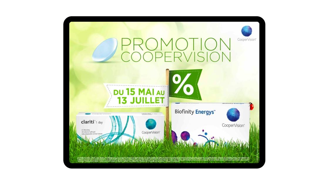 adv promo printemps Coopervision