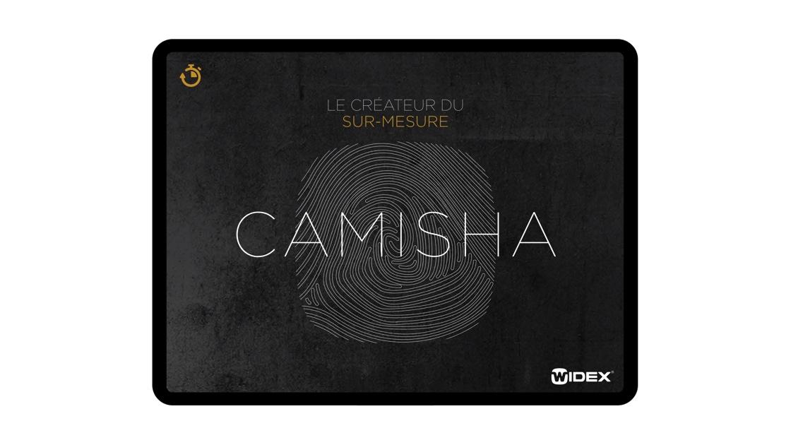 aide de vente camisha Widex