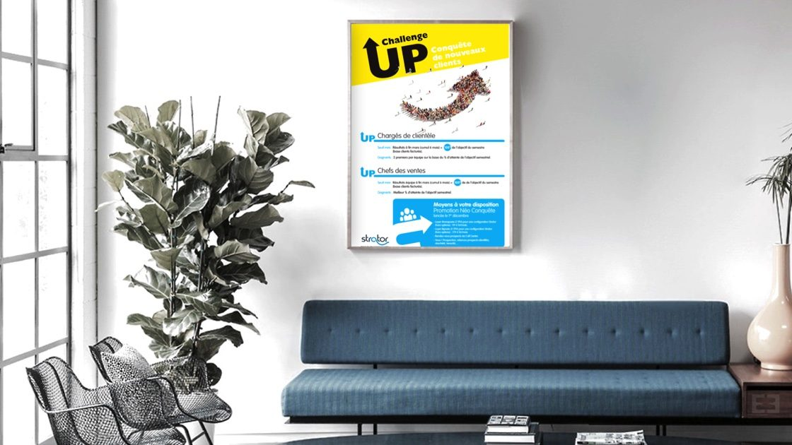 affiche strator up
