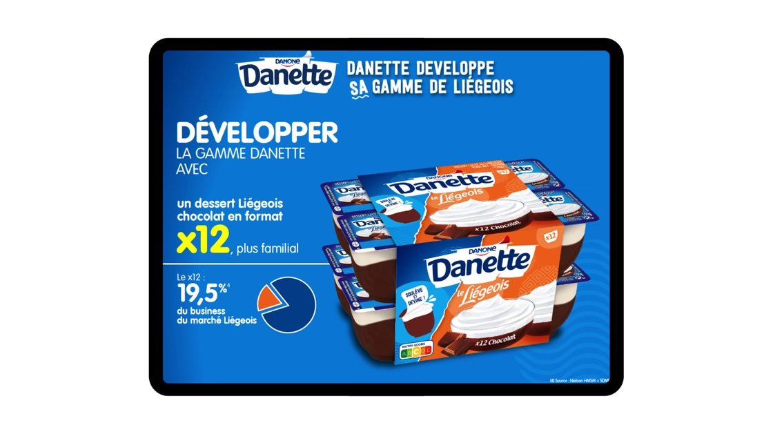 adv danette Danone
